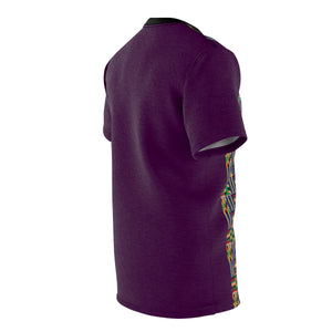 Akwaaba II Kente T-Shirt - Mens - Burgandy