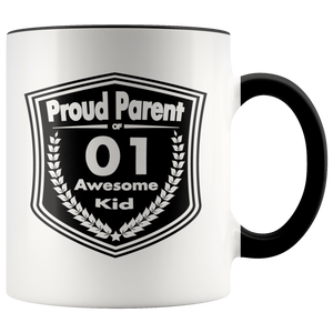 Proud Parent of 1 Awesome Kid - Mug