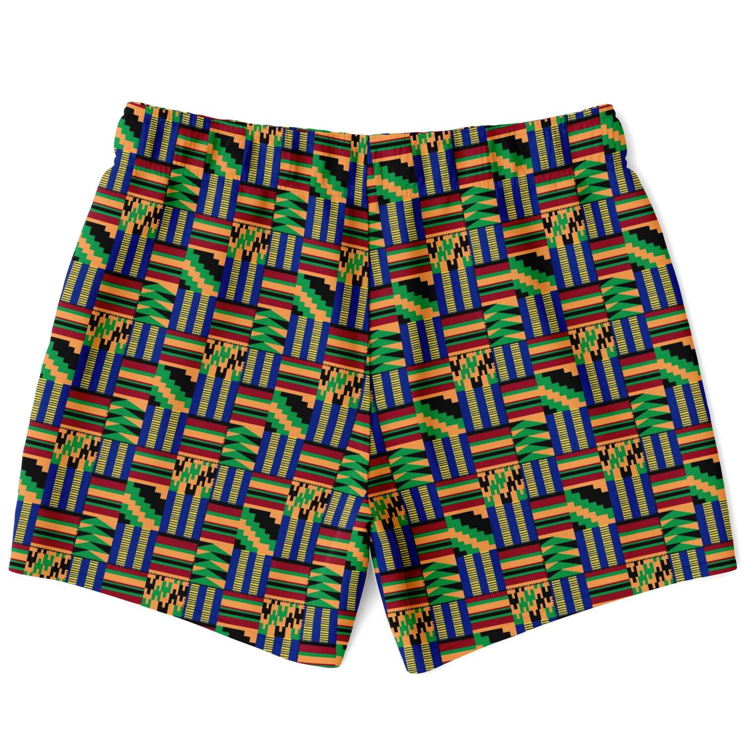 Traditional African Kente - Akwaaba - Swim Trunks