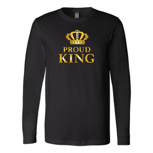 Proud King - Royalty - Limited Edition Mens Long Sleeve Shirt