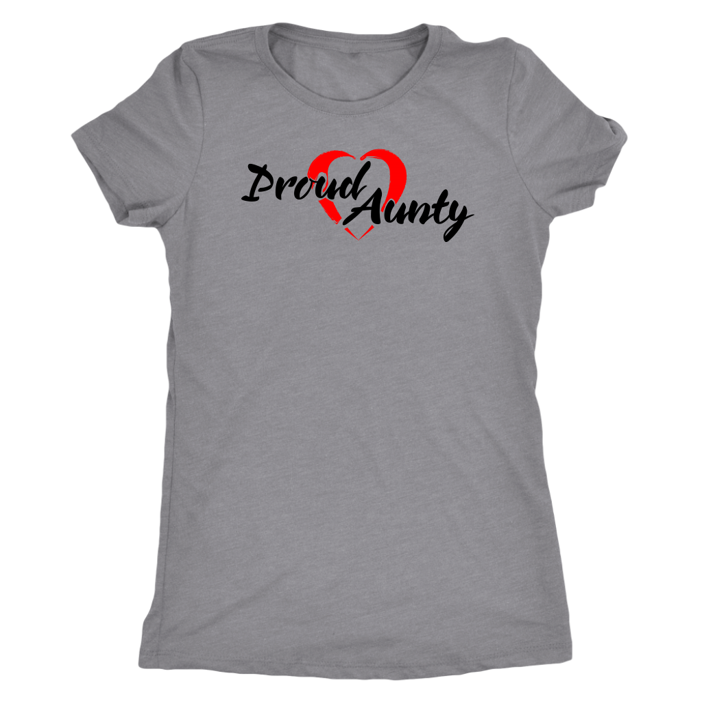 Proud Aunty Love - Relaxed Fit - BlackFont