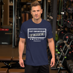 TE  Uncovered - Short-Sleeve Unisex T-Shirt