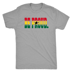 Be Proud - RedYellowGreenBlackStar - Mens