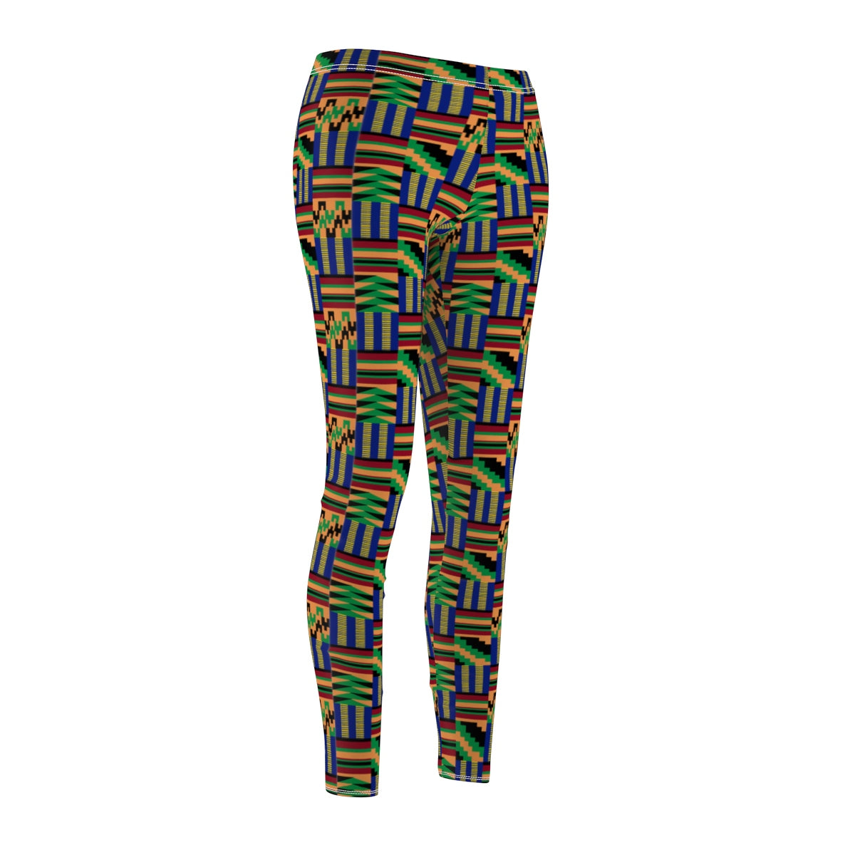 Akwaaba Kente Women's Casual Leggings