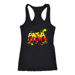 Proud Mom - Grafitti Style - Racerbank Tank