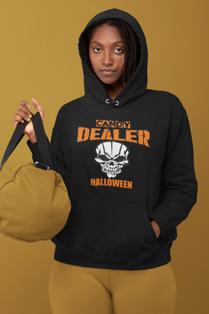 Halloween Candy Dealer - Unisex Tri-Blend Hoodie Shirt
