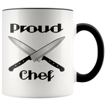 Proud Chef Accent Mugs