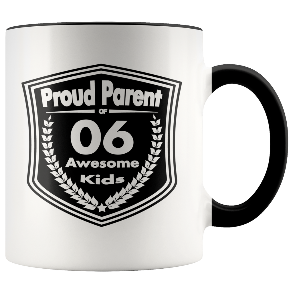 Proud Parent of 6 Awesome Kids - Mug