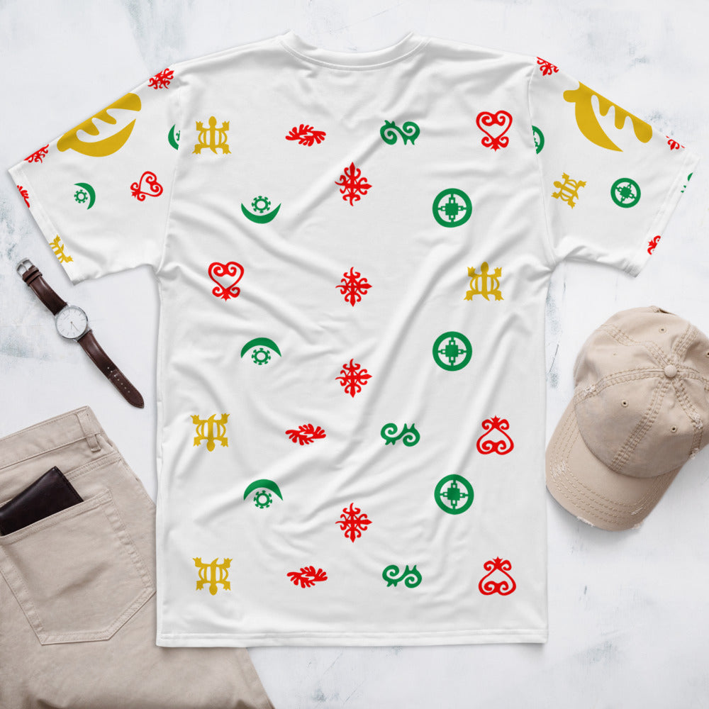 Adinkra Symbols I - Men's T-shirt (White)