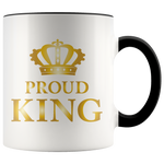 Proud King - Mug (gold)
