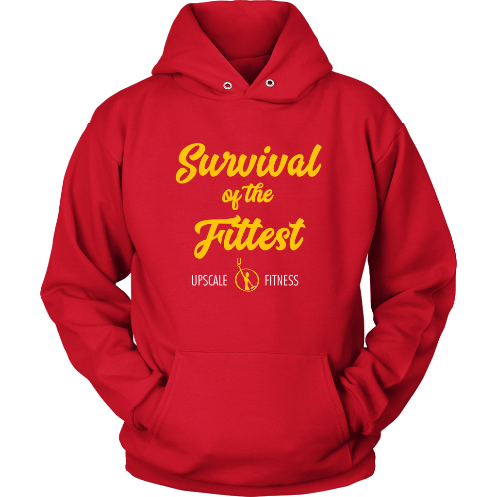 Survival of the Fittest by Upscale Fitness - Unisex Hoodie