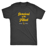 Survival of the Fittest by Upscale Fitness - Mens - Triblend