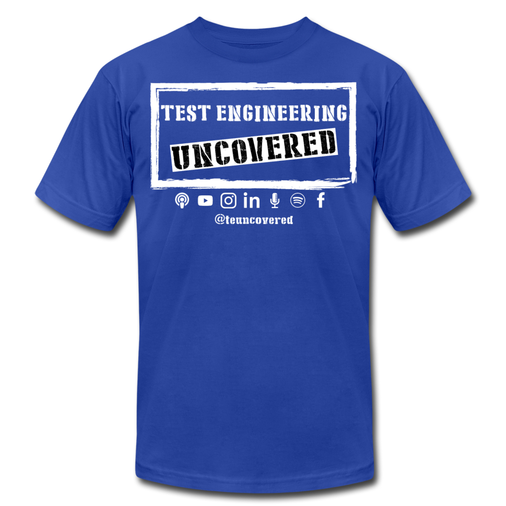 TE Uncovered - Unisex T-Shirt - royal blue