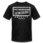 TE Uncovered - Unisex T-Shirt - black