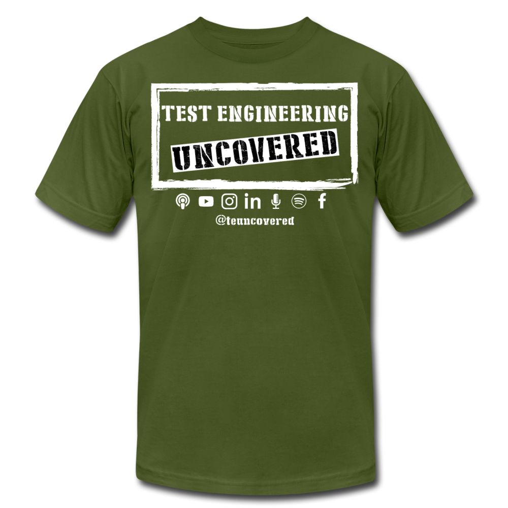 TE Uncovered - Unisex T-Shirt - olive