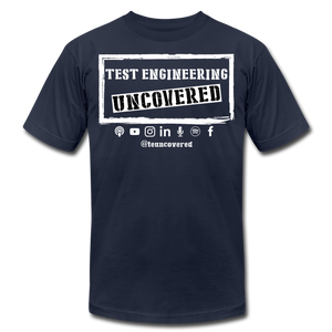 TE Uncovered - Unisex T-Shirt - navy