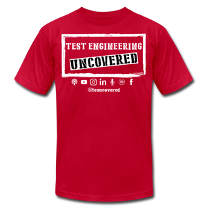 TE Uncovered - Unisex T-Shirt - red