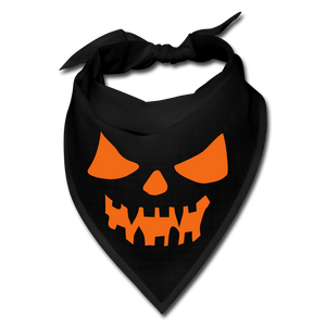 Bandana  -Scary Face - Halloween - black
