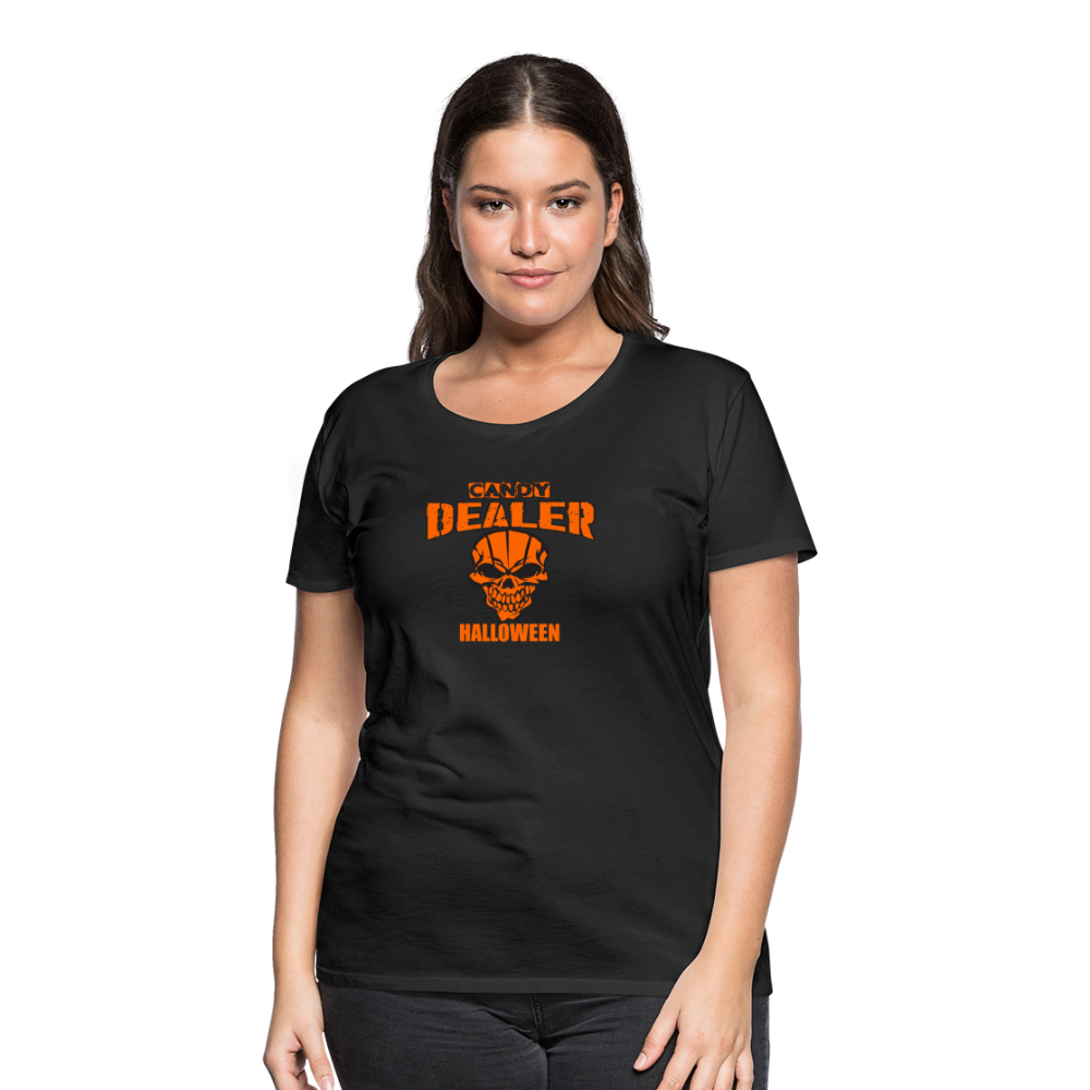 Halloween - Candy Dealer - Women's Premium T-Shirt - black
