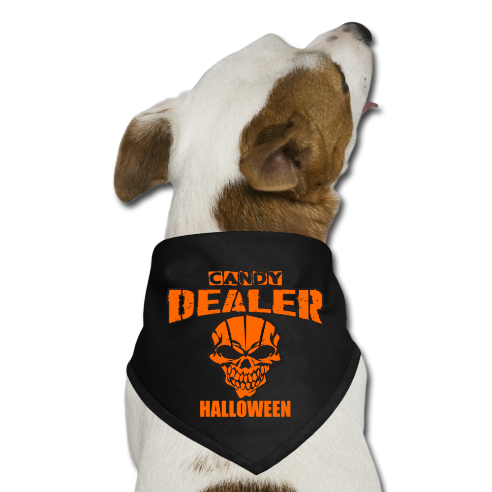 Halloween Candy Dealer - Dog Bandana - black