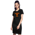 Halloween Candy Dealer - T-Shirt Dress - black