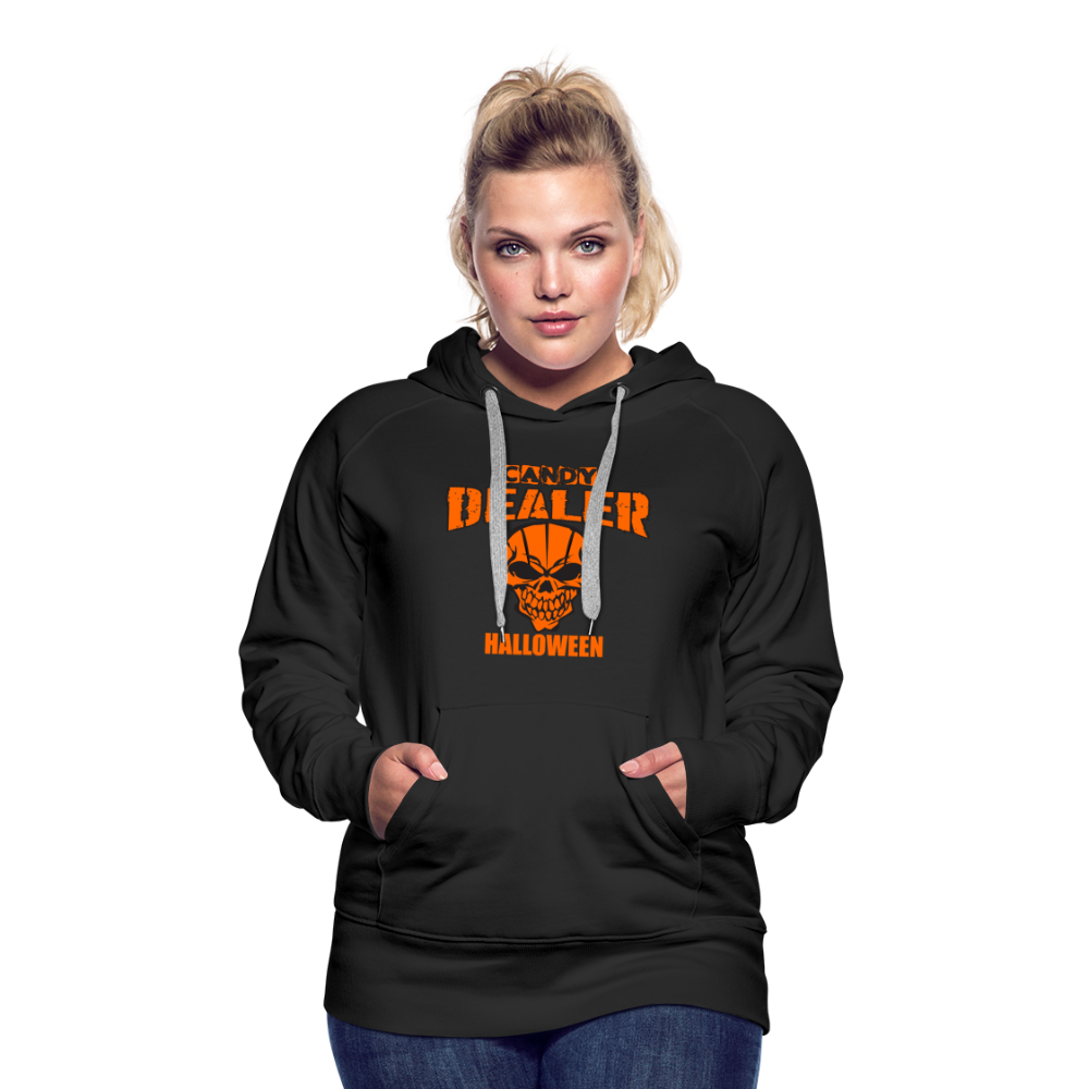 Halloween Candy Dealer - Women's Premium Hoodie - black