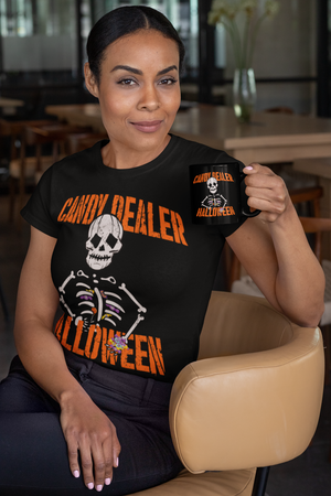 Halloween Candy Dealer - Women's Premium T-Shirt