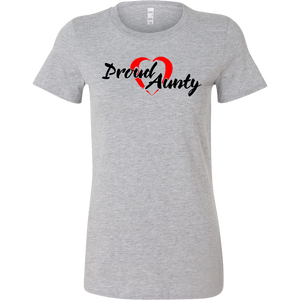 Proud Aunty Love - Slim Fit - BlackFont