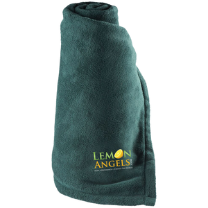 Lemon Angels Holloway Large Fleece Blanket
