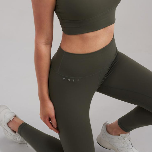 MELT Essentials Leggings - Dusty Khaki Leggings KOBA