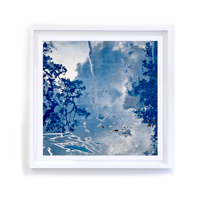 Blue Reflection, Framed