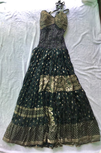 Full Length Indian Silk Dress