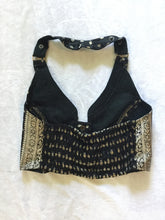 Load image into Gallery viewer, Silk Cropped Halter Vest