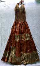 Load image into Gallery viewer, Full Length Indian Silk Dress