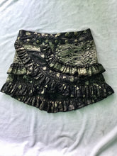Load image into Gallery viewer, Indian Silk Mini Skirt