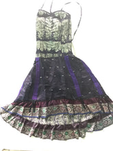 Load image into Gallery viewer, Indian Silk Cinche Dress