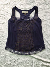 Load image into Gallery viewer, Organic Cotton Shipibo Print Top with Lace