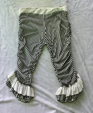 Load image into Gallery viewer, Striped Capri's with Ruffles