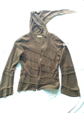 Load image into Gallery viewer, Organic Hemp Ribbed Zip Hoodie