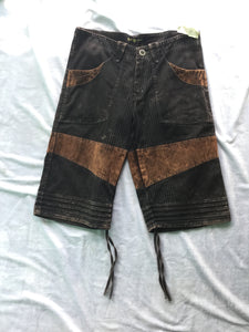 Men's Acid Wash Shorts