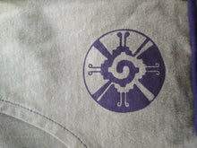 Load image into Gallery viewer, Men's Vest Hoodie with Sacred Geometry Embroidery on Back