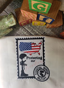 GRF Military Postage Stamp 5x7 2 Files