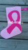BBE - ITH Ribbon Awareness Christmas Stocking, In The Hoop - 3 Sizes!