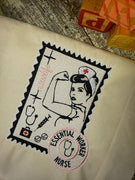 GRF Nurse Postage Stamp 5x7 2 Files