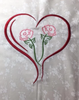 AGD 2308 Double Rose Heart