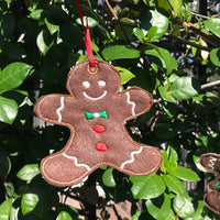 AGD 9300 Ginger Boy Ornament