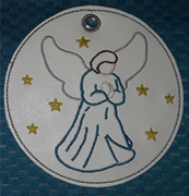 AGD 9360 Angel Ornament