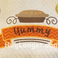 Appliqué Bakery Label HL2373 embroidery file