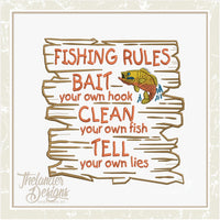 TD - Fishing Rules