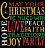 AGD 2314 Christmas Word Art